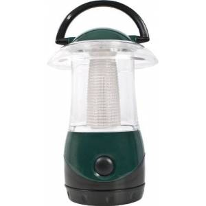 Trespass Embers Lanterne Mixte Adulte, Vert Foncé/Transparent - Publicité