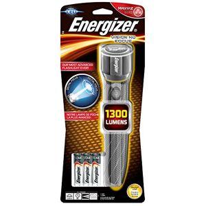 Energizer Gamme complte de lampe de poche LED  pour les urgences, le camping et la randonnée (compacte, frontale, duo, métal et lanterne) (lampe torche Vision HD + 6 piles AA). Publicité