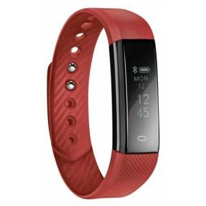Acme act101r Fitness Tracker, Red, One Size - Publicité