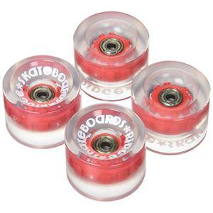 Ridge Skateboards Cruiser Roue de Skateboard Mixte Adulte, Rouge - Publicité