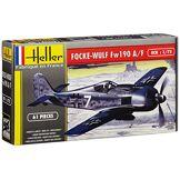 Heller - 80235 - Maquette - Aviation - Focke Wulf Fw 190 A8/f3 Chasseur - Deuxième Guerre Mondiale