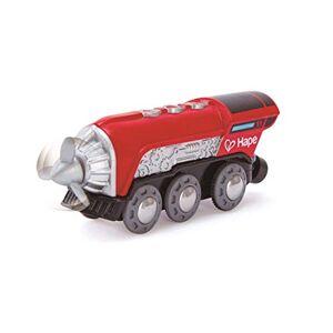 Hape - Circuit de Train en Bois-Locomotive  Hélice, E3750 - Publicité