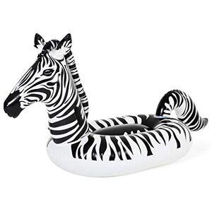 Bestway Schwimmtier Zebra mit LED-Licht 254 x 142 cm Animal de Natation Zbre avec lumire, 41406, 0 - Publicité
