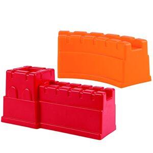 Hape E4081 Jouet de Plage en Forme de Mur Chinois Rouge/Orange - Publicité