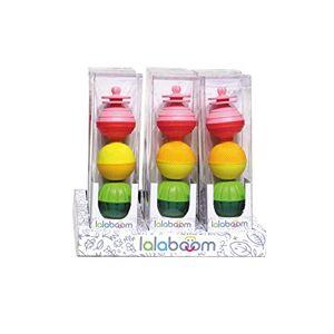 Lalaboom 86124 Jeu de 6 Jouets éducatifs pour Enfants Multicolore - Publicité