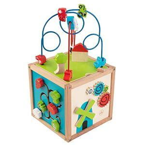 KidKraft 63243 Cube Labyrinthe De Perles En Bois, Jeu D'veil Premier ge, Boulier Enfant Pour Apprendre  Identifier Les Couleurs, Formes, Lettres Et Chiffres - Publicité