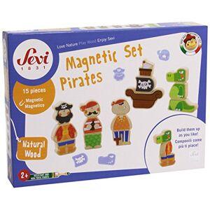 Sevi 82827 Jeu De Construction Set Magnétique Pirates - Publicité