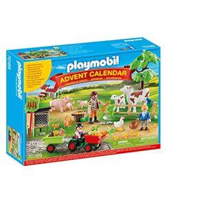 """Playmobil Calendrier de l'Avent """"Animaux de la Ferme"""" 70189 - Publicité"""