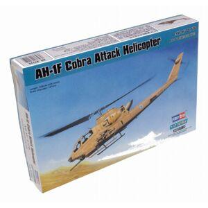 Hobbyboss Maquette  AH-1F Cobra Attack Helicopter  chelle 1:72 (Gris) - Publicité