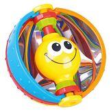 Bieco 41009053 Ballon de miroir magique avec miroir intégré pour jouer et découvrir les sens de l'activité, balle d'activités pour bébés et jeunes enfants à partir de 6 m+ Multicolore