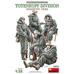 ART MiniArt- Totenkopf Division (Kharkov 1943) Statuette, 35075, Gris - Publicité