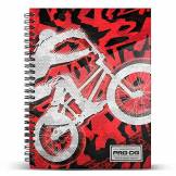 PRODG PRODG DIN A4 Notebook Backflip Accroche-Sac, 30 cm, Multicolore (Multicolored)