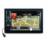 Caliber RDN802BT Lecteur DVD/USB/SD/AUX in/BT/Touch/GPS/TMC Noir