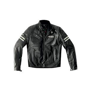 SPIDI Sport S.r.l. (EU) Spidi Veste de Moto en Cuir, Glace/Noir, 54 - Publicité