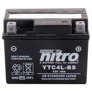 Nitro YTC4L-BS -N- Batterie Moto AGM Fermé - Publicité