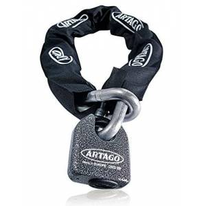 Artago 68t100Chane antivol Maximale sécurité homologué Sold Secure Gold,  14.5, 100cm - Publicité