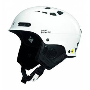 Sweet Protection Igniter II MIPS Casque Mixte, Gloss White, XX-Large - Publicité