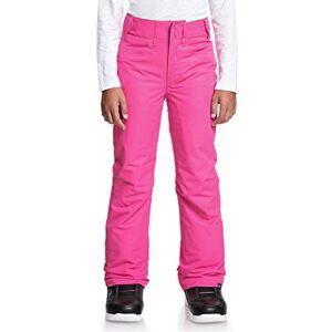 Roxy Backyard Girl-Pantalon de Ski/Snowboardpour Fille 8-16 Ans Snowboard, Beetroot Pink, FR : L (Taille Fabricant : 12/L) - Publicité