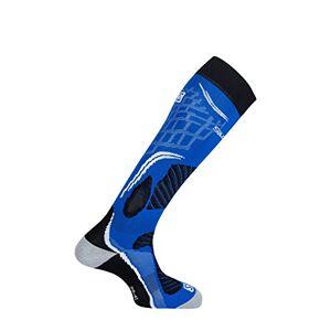 Salomon, 1 Paire de Chaussettes Hautes, Unisexes, X PRO, Polyamide/Polypropylne, Taille M (39-41), Bleu/Noir (Union Blue/Black), L37885900 - Publicité