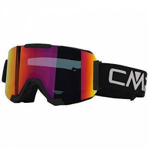CMP X-Wing Magnet Masque de Ski Unisexe pour Adulte L Nero-Orange - Publicité