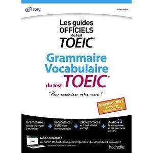 ETS Grammaire Vocabulaire TOEIC (conforme au nouveau test TOEIC) - Publicité