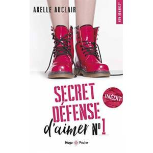 Auclair, Axelle Secret défense d'aimer tome 1 - Publicité