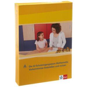 Klett Ernst /Schulbuch Das Zahlenbuch. 1.Schuljahr. Materialpaket fr die Schuleingangsdiagnostik: GI-TEST (Arithmetik und Geometrie). Neubearbeitung - Publicité