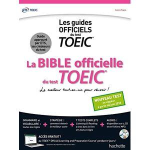 Collectif La Bible officielle du TOEIC (conforme au nouveau test TOEIC) - Publicité