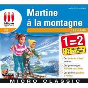 Micro Application Martine à la montagne