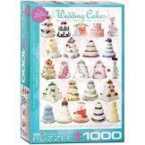 Eurographics Mariage gâteaux Puzzle (1000pièces)