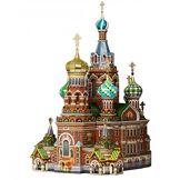 Keranova keranova110échelle 1: 20035x 26x 42cm Clever Papier Historique Bâtiments Le Sauveur sur Sang renversé de Saint-Pétersbourg Puzzle 3D