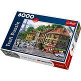 Trefl - 65001 - Puzzle - Rues de Paris - 6000 Pièces