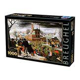 D-Toys- Puzzle 1000 pcs, 66947 BR 04, Uni