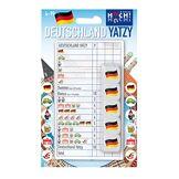 Huch & Friends 879622-Allemagne yatzy, Familles Mot/Cube Jeux