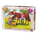 King- Puzzle 100 pcs, 5297, Multicolore