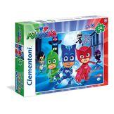 Clementoni-24488-Puzzle-24Maxi PJ Masks