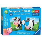 Ravensburger Farmyard Friends 9x 2PC en Forme de Puzzles