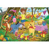 Clementoni-Clementoni-24201-Supercolor Collection-Winnie The Pooh-24 Maxi pièces, 24201, Multicolore
