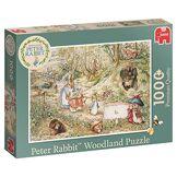 Peter Rabbit 19480Woodland 1000pièces Puzzle, Vert