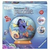 Ravensburger-Disney-Trouver Dory, 72pc Puzzle 3D