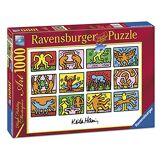 Ravensburger- Puzzle Retrospect, 1989 Keith Haring 1000 pièces, 15615