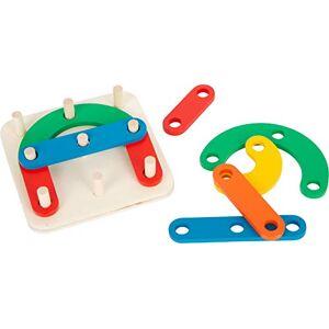 Small Foot 11741 Puzzle éducatif Lettres et Chiffres en Bois, Jeu de Pose et  enficher pour Enfants  partir de 4 Ans Toys - Publicité