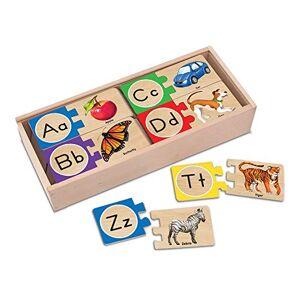Melissa & Doug 12541 Puzzles Auto-Correcteurs Pour LAlphabet Anglais - Publicité