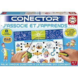 Educa Borrás 17316.0 Conector J'Associe et J'Apprends - Publicité