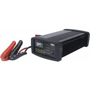 Ring Automotive Ring RSCPR50 Chargeur de Batterie Intelligent Professionnel Ring Smartcharge Pro, 12V, 2/6/12/25/50 Amp, 14 à 1000Ah, Tous Types de Batterie, Écran LCD