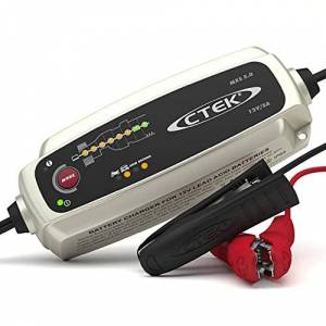 CTEK MXS 5.0 Chargeur de Batterie 12 V avec Compensation Automatique de la Température - Publicité