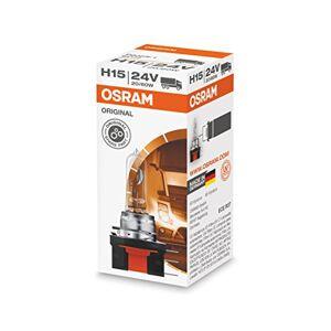 OSRAM ORIGINAL H15, Lampe de phare halogène, 64177, 24V camion, boîte pliante (1 pièce) - Publicité