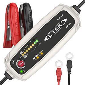 CTEK MXS 5.0 Chargeur de Batterie Entirement Automatique (Charge, Maintient et Reconditionne les Batteries Auto et Moto) 12V, 5 Amp  Prise EU - Publicité