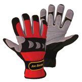 FerdyF. Rope Rescue Gloves S Red-Grey