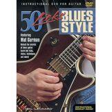 Hal Leonard 50 Licks - Blues style DVD